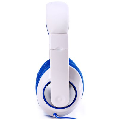 Kanen MC - 780 Deep Bass Sound DJ Headphone Comfortable Leather Band / Earbud Headset with External Mic for MP3 / MP4 / Tablet PC / Music Players