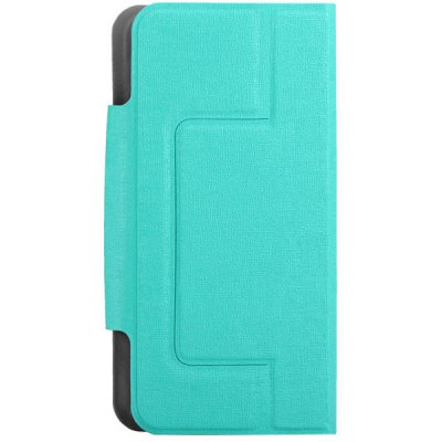 Flip Type Protective PU Leather Case with Stand Function / Credit Card Holder / Suction Base for 4.3 to 4.7 inch Phone