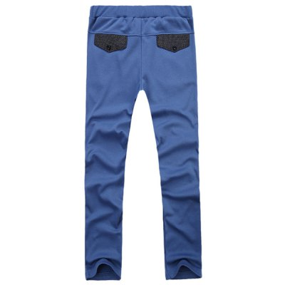 Гаджет   Loose-Fitting Lace-Up Character Wave Point Splicing Pocket Design Narrow Feet Men
