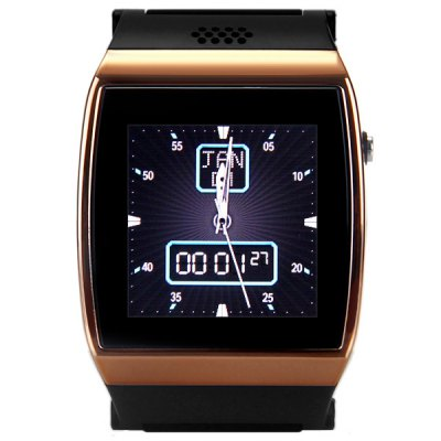 U Watch Smart Wearable Quad Band Watch Phone with Touch Screen Bluetooth Notifications Anti - lost
