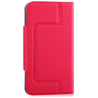 Flip Type Protective PU Leather Case with Stand Function / Credit Card Holder / Suction Base for 3.5 to 4.0 inch Phone