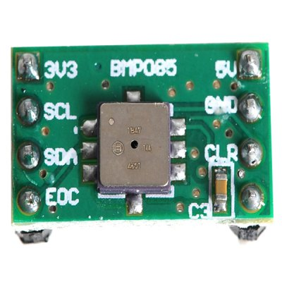 BMP085 Digital Barometric Pressure Sensor Module Board with 2.54 Standard Pin Interface  -  Supporting IIC ProtocolOther Accessories<br>BMP085 Digital Barometric Pressure Sensor Module Board with 2.54 Standard Pin Interface  -  Supporting IIC Protocol<br><br>Type: Barometric digital pressure sensor module borad<br>Model: BMP085<br>Compatibility: Ardunio<br>Operating Voltage: 3.3-5V<br>Product Weight: 0.028 kg<br>Package Weight: 0.050 kg<br>Product Size(L x W x H): 1.8 x 1.1 x 1.0 cm / 0.7 x 0.4 x 0.4 inches<br>Package Size(L x W x H): 10.0 x 7.0 x 2.0 cm<br>Package Contents: 1 x Barometric Digital Pressure Sensor Module Board