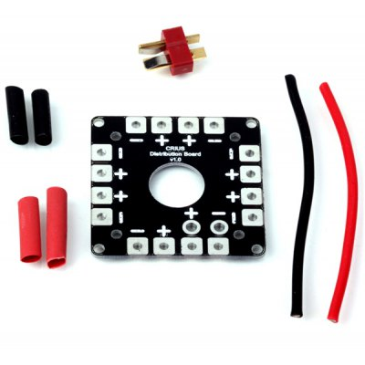 CRIUS Distribution Board with Tubes and 14AWG Silicone Cables