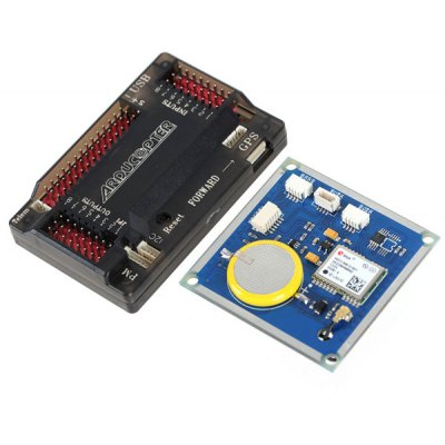 Arduino Compatible ZnDiy - BRY ArduPilot Mega APM2.6 Flight Controller with GPS Module 3 - axis Gyro Accelerometer and Magnetometer