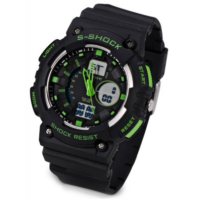 Sport Quartz LED Watch