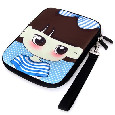 Гаджет   Comfortable Soft Bag Pouch with Lovely & Stylish Angry Xiao Xi Pattern for iPad Mini iPad Cases/Covers