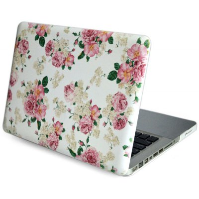 Peony Pattern Heat Emission PC Case for Macbook Air Pro Retina 13.3