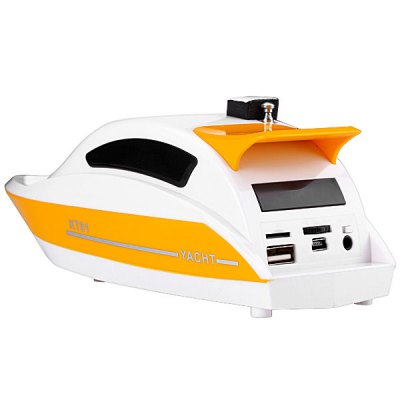 KT01 Yacht Style Stereo Speaker with USB / TF Card / FM Radio Function