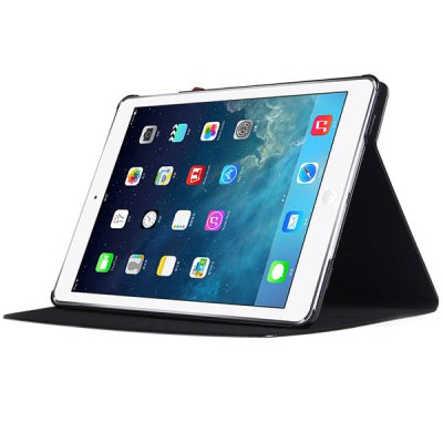 ФОТО USAMS Lange Series Artificial Leather and Plastic Material Case with Rotating Stand and Dormancy Function for iPad Mini Retina
