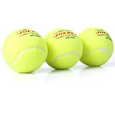 3PCS High Strength Training Tennis Balls of Water - resistance and wear - resisting Design