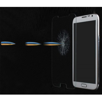 ФОТО Ultrathin 0.33mm 9H Hardness 2.5D Tempered Glass Screen Protector for Samsung Galaxy Note 2 N7100