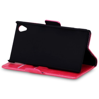 Гаджет   Crazy Horse Veins PC and PU Stand Case with Card Holder for Sony Xperia Z2 L50W Other Cases/Covers