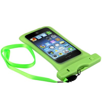 Colorful Waterproof Punch Protector Cover for iPhone 5 with Strap
