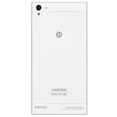 KINGZONE K1 Android 4.3 MTK6592 3G Smartphone Octa Core 1.7GHz 1GB RAM 16GB ROM Gesture Sensing GPS NFC OTG With 5.5 inch HD ScreenCell phones<br>KINGZONE K1 Android 4.3 MTK6592 3G Smartphone Octa Core 1.7GHz 1GB RAM 16GB ROM Gesture Sensing GPS NFC OTG With 5.5 inch HD Screen<br><br>Brand: KINGZONE<br>Type: Phablet<br>OS: Android 4.3<br>Language: Spanish, Russian, German, Italian, English, Dutch, French, Portuguese<br>Notice : If you need any specific language other than English and you must leave us a message when you checkout<br>SIM Card Slot: Dual SIM, Dual Standby<br>CPU: MTK6592<br>Cores: 1.7GHz, Octa Core, Cortex-A7<br>GPU: Mali-450MP<br>RAM: 1GB RAM<br>ROM: 16GB<br>External memory: TF card up to 32GB (not included)<br>WiFi: 802.11b/g/n wireless internet<br>Network type: GSM+WCDMA<br>Frequency: GSM 850/900/1800/1900MHz WCDMA 850/2100MHz<br>Support 3G : Yes<br>GPS: Yes<br>Bluetooth: Yes<br>Screen type: Capacitive (5-Points)<br>Screen size: 5.5inch<br>Screen resolution: 1280 x 720 (HD 720)<br>Camera type: Dual cameras (one front one back)<br>Back-camera  : 14.0MP<br>Back camera: with flash light and AF<br>Front camera: 8.0MP<br>Video recording: Yes<br>Picture format: BMP, PNG, JPEG, GIF<br>Music format: AAC, MP3, WAV<br>Video format: AVI, MP4, 3GP<br>MS Office format: Word, Excel, PPT<br>E-book format: TXT, PDF<br>Games: Android APK<br>TF Card Slot: Yes<br>Micro USB Slot: Yes<br>Audio Out Port : Yes (3.5mm audio out port)<br>Microphone: Supported<br>Speaker: Supported<br>Additional Features: Gesture Sensing, Browser, Gravity Sensing, MP4, 3G, Light Sensing, People, Wi-Fi, OTG, Video Call, NFC, GPS, Proximity Sensing<br>Battery Capacity (mAh): 1 x 2500mAh Battery<br>Cell Phone: 1<br>Screen Protector: 1<br>Power Adapter: 1<br>USB Cable: 1<br>OTG Cable: 1<br>Earphones: 1<br>Back Case : 1<br>Product size: 152 x 76 x 8 mm / 6.1 x 3.1 x 0.32 inches<br>Package size: 17.0 x 15.0 x 4.0 cm<br>Product weight: 0.145 kg<br>Package weight: 0.7 kg