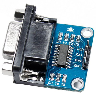 RS232 Serial Port to TTL Converter Module Board for WRT / NDS 4 / Cell phone / Satellite TV Reset