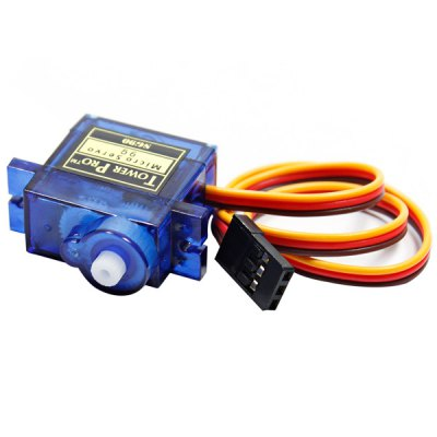 TowerPro SG90 Micro Steering Gear Servo with Accessories for RC Helicopter Plane Car Boat