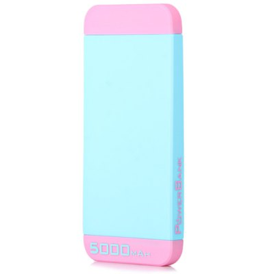 Гаджет   New Arrival 5000mAh Portable Mobile Power Bank with Built in Micro Charge Cable iPhone Power Bank