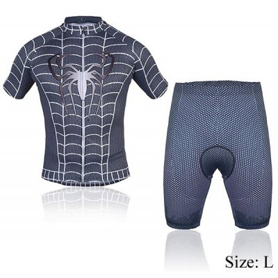OQsport Quick - dry Summer Men Bicycle Cycling Jerseys Suit of Spider Pattern Design