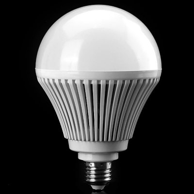 E27 24W 5630 SMD LED AC85 - 265V 2200lm White 6500K Ball BulbLED Light Bulbs<br>E27 24W 5630 SMD LED AC85 - 265V 2200lm White 6500K Ball Bulb<br><br>Base Type: E27<br>Type: Ball Bulbs<br>Output Power: &gt;20W<br>Emitter Type: 5630 SMD LED<br>Total Emitters: 1<br>Actual Lumen(s): 2200lm<br>Voltage (V): AC85-265<br>Features: Long Life Expectancy, Low Power Consumption, Energy Saving<br>Function: Home Lighting, Studio and Exhibition Lighting, Commercial Lighting<br>Available Light Color: Cold White, Warm White<br>Sheathing Material: Plastic<br>Product Weight: 0.264 kg<br>Package Weight: 0.35 kg<br>Product Size (L x W x H): 12 x 12 x 18 cm / 4.7 x 4.7 x 7.09 inches<br>Package Size (L x W x H): 13 x 13 x 14 cm<br>Package Contents: 1 x Ball Bulb