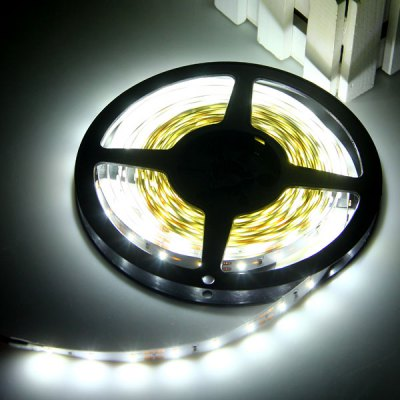 5M 30W 300-SMD 3014 LED 3600lm White Non - Waterproof Car Decoration Light Strip