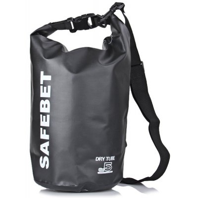 SAFEBET Multipurpose 5 Liters Water Resistance Rafting Dry Bag Swimming Beach Clothes Storage Bag