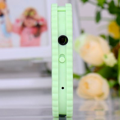 Cute Biscuit MP3 Player with Universal 3.5mm Jack Support TF Card