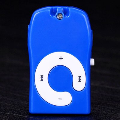 Iron Man Pattern MP3 Player with Universal 3.5mm Jack Support TF Card