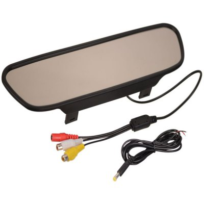 ZnDiy-BRY TFT LCD Car Rearview Mirror with 2-Channel AV Out