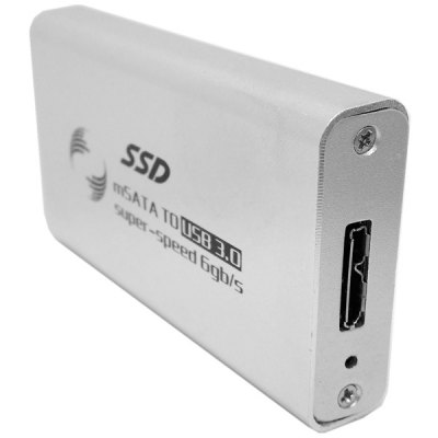 Гаджет   CY SA - 105 mSATA Solid State Disk SSD to USB 3.0 Hard Disk Case for Samsung PM800 mSATA Cables & Connectors