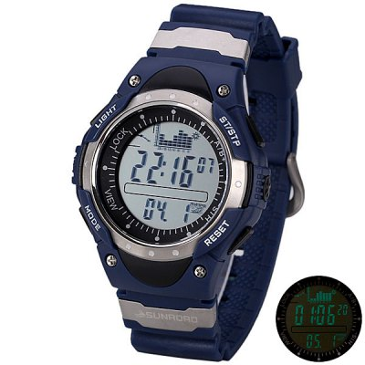 SUNROAD Digital Fishing Barometer Watch