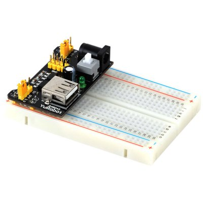 Гаджет   ZnDiy - BRY Z - 111 400 Hole Mini Breadboard + Power Supply Module + 65 Jump Cables Set for DIY / Arduino Other Accessories