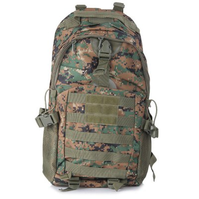 Multipurpose Water Resistant Military Backpack with Molle System for OutdoorBackpacks<br>Multipurpose Water Resistant Military Backpack with Molle System for Outdoor<br><br>Type: Backpack<br>For: Cycling, Climbing, Travel, Adventure, Hiking, Camping, Fishing<br>Material: Nylon<br>Features : Water Resistance<br>Color: Camouflage<br>Product weight   : 0.8 kg<br>Package weight   : 1.031KG<br>Product size (L x W x H)   : 48 x 32 x 14 cm / 18.9 x 12.6 x 5.5 inches<br>Package size (L x W x H)  : 35.000 x 34.000 x 10.000 cm /13.76 x13.36 x3.93 inches<br>Package Contents: 1 x Travel Backpack