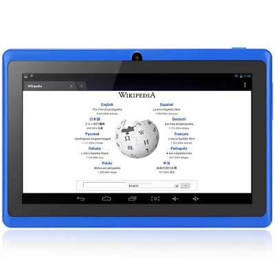 Q8H Android 4.2 Cheap Children Tablet PC with 7 inch WVGA Screen A23 Dual Core 1.2GHz Dual Cameras WiFi 4GB ROM