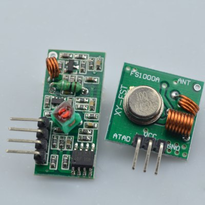 433MHz RF Transmitter and Receiver Module Kit