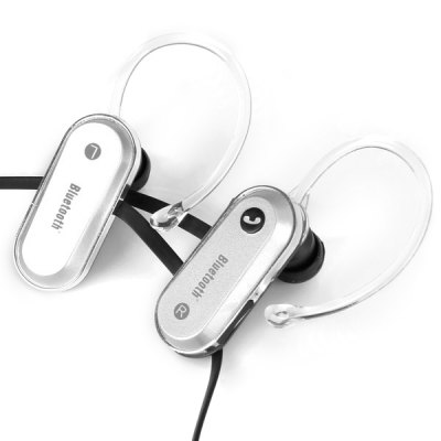 aita AT - BT33  Bluetooth Hands Free Locked - in Fit Ear - Hook Earphone Bass Sound Casque In - Ear Headphone with Mic