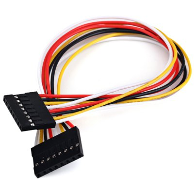 8-Pin 2.54mm Pitch Male to Male Extension Cable for Arduino