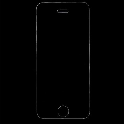 Ultrathin 0.33mm 9H Hardness 2.5D Tempered Glass Screen Protector for iPhone 5 / 5S / 5C / SE