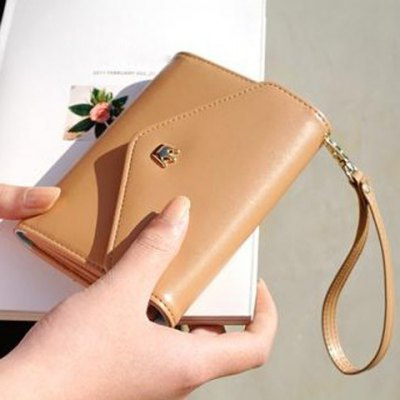 Multifunction Women Wallet Coin Case Purse For iphone/Galaxy iphone 4/5