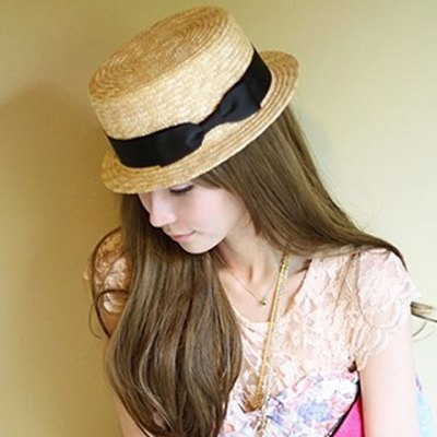 Bowknot Embellished Sun Hat