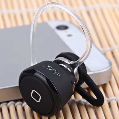 YE - 106 Fashion Mini Wireless Bluetooth Earphone Ear - hook Headset with Mic for Smartphone Tablet PC
