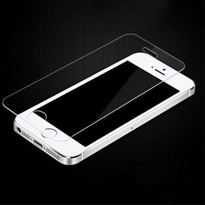 Ultrathin 0.33mm 9H Hardness 2.5D Tempered Glass Screen Protector for iPhone 5 5S 5C SE