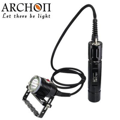 Archon DH26 Underwater 100m Headlight Cree XM - L U3 1000lm 3 - Mode Highlight LED White Diving Light  (2 x 26650 Battery)