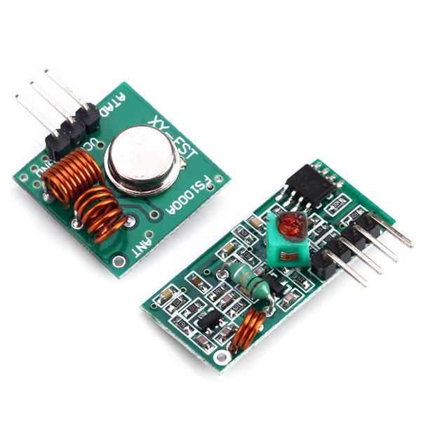 SMAKN 315Mhz Rf Transmitter and Receiver Link Kit