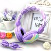 Kanen IP - 810 Stereo Sound Colorful Headphone Hands Free Headset with Line - in Mic for Smartphone / Tablet PC / Music Players