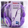 Kanen IP - 810 Stereo Sound Colorful Headphone Hands Free Headset with Line - in Mic for Smartphone / Tablet PC / Music Players photo
