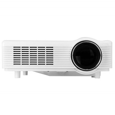 HX - 878 LCD Projector 200 Lumens 800 x 600 Native Resolution HDMI USB VGAProjectors<br>HX - 878 LCD Projector 200 Lumens 800 x 600 Native Resolution HDMI USB VGA<br><br>Model: HX-878<br>Color: White<br>Material: Plastic<br>Display Type: LCD<br>Native Resolution: 800 x 600<br>Brightness: 200 Lumens<br>Contrast Ratio: 800:1<br>Lamp Life: 50000 hours<br>Image Size: 60 - 150 inch<br>Power Supply: 100-240V<br>Lamp: LED<br>Interface: DC, HDMI, SD Card Slot, USB, VGA, AV<br>Product Weight: 2.58 kg<br>Package Weight: 0.854 kg<br>Product Size (L x W x H): 32 x 21.5 x 10 cm / 12.6 x 8.46 x 3.94 inches<br>Package Size (L x W x H): 40 x 35 x 18 cm<br>Package Contents: 1 x Projector, 1 x Remote Control, 1 x Power Adapter, 1 x English User Manual
