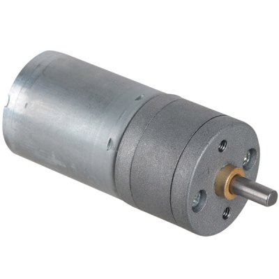 ZnDiy - BRY 25GA - 300 Genuine DC 12V 300RPM / DC 6V 150RPM Gear MotorMotors<br>ZnDiy - BRY 25GA - 300 Genuine DC 12V 300RPM / DC 6V 150RPM Gear Motor<br><br>Model: 25GA-300<br>Material: Iron<br>Product Weight: 0.07 kg<br>Package Weight: 0.14 kg<br>Product Size(L x W x H): 6.8 x 2.5 x 2.5 cm / 2.68 x 0.94 x 0.94 inches<br>Package Size(L x W x H): 10 x 8 x 4 cm / 3.94 x 3.15 x 1.57 inches<br>Package Contents: 1 x Gear Motor