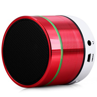 S06 Mini Bluetooth Speaker with Hands -  free Call / TF Card / Audio Function Built-in Microphone for iPhone 6S / 6S Plus / iPad Pro