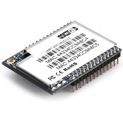 HLK - RM04 RT5350F UART Serial Port to Ethernet Wi - Fi Wireless Network Adapter Converting Module for Arduino DIY