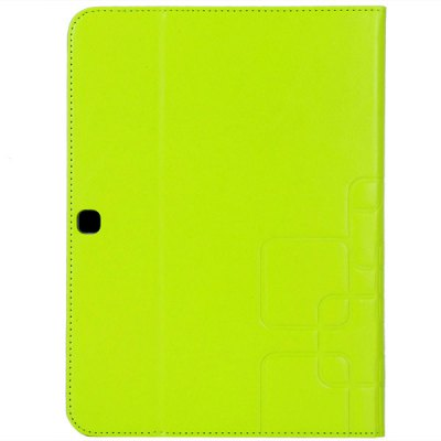 PU Leather and Plastic Rear Cover Stand Case for Samsung T530 T531 10.1 inch Tablet PC